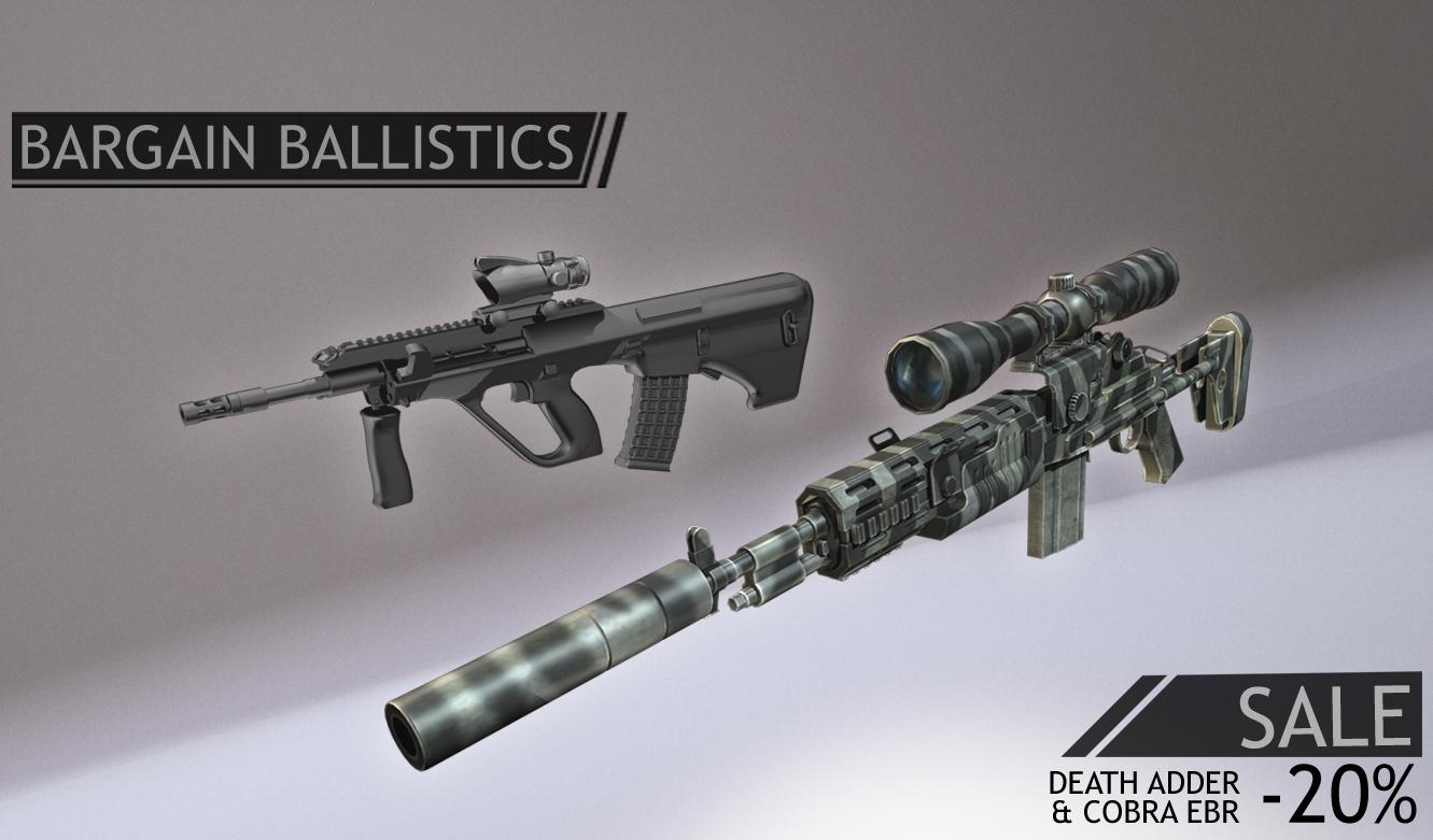 Bargain Ballistics BBDeathCobraPromo
