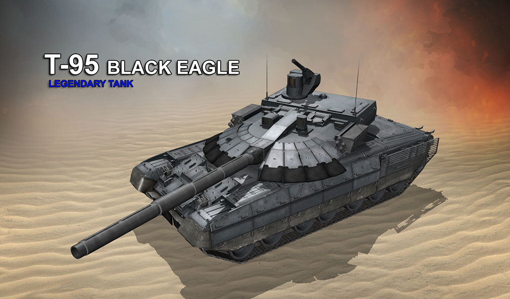 The Black Eagle Legendary Tank! BlackEaglePromo