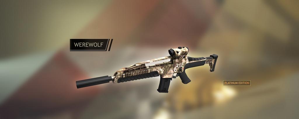 XM8 Werewolf: Red Crucibe XM8PPromo